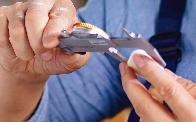 Kayserburg Measuring precision