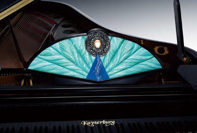 Peacock Blue Pearl Drago