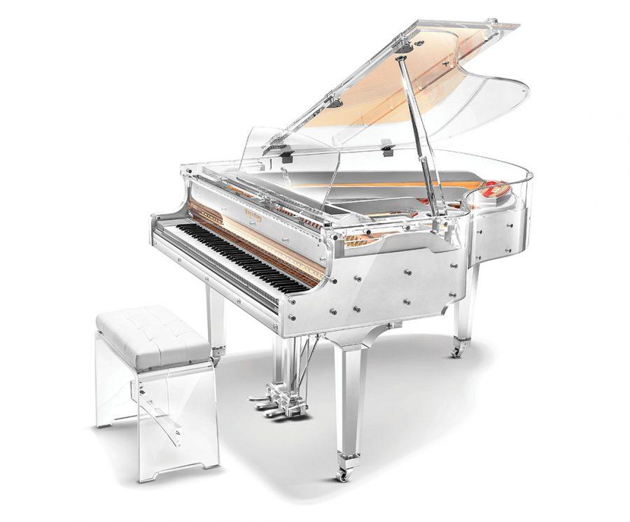 GH160YJ Crystal Grand Piano